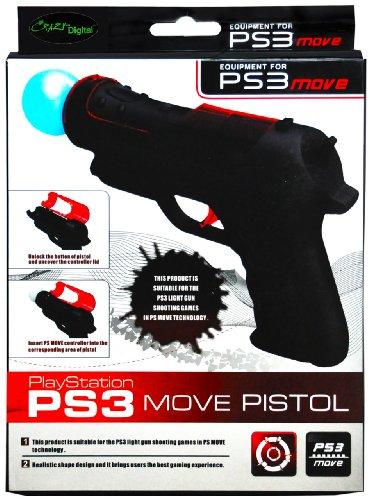 CrazyOnDigital PS3 Move Gun Game Controller