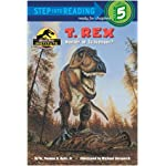 T. Rex: Hunter or Scavenger?: Jurassic Park Institute (Step into Reading) book cover