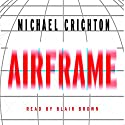 Airframe (       UNABRIDGED) by Michael Crichton Narrated by Frances Cassidy