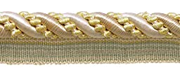 9 Yard Value Pack Large Ivory, Yellow Gold 7/16\