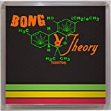 Thoughtroad Weed Bong Theory Plastic Paper Fridge Magnet