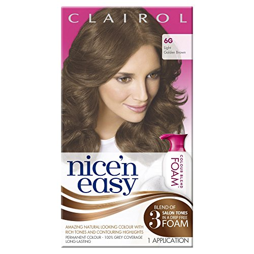 clairol-nicen-easy-colour-blend-foam-permanent-hair-dye-light-golden-brown-6g