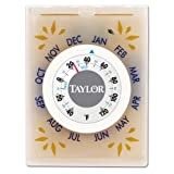 Taylor 6015 Food Fresh Refrigerator Thermometer