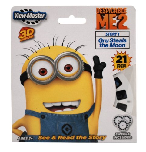 ViewMaster 3 Reel Set - Despicable Me 2 - 1