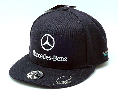 【Mercedes AMG】 メルセデス F1 Team ドライバーズ CAP ルイス・ ハミルトン ( フラット タイプ )