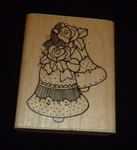 Wedding Bells Rubber Stamp - 1