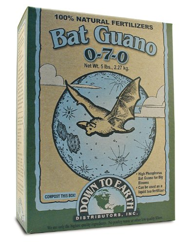 Down To Earth 5-Pound Bat Guano 0-7-0 7832