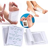 5SHP® 100pcs Detox Foot Pads Patch Detoxify Toxins With 100pcs Adhesives Keeping Fit Health Care (100)