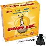 Smart Ass Board Game with Free Storage Bag