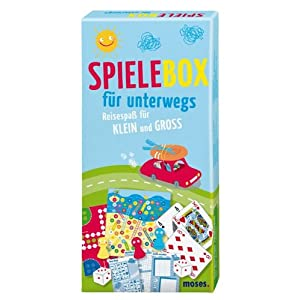 Spielebox fr unterwegs, Reisespa fr KLEIN und GROSS