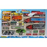 50 Piece PlayTown 1:72 Automobile Toy Vehicle Playset ~ New Ray