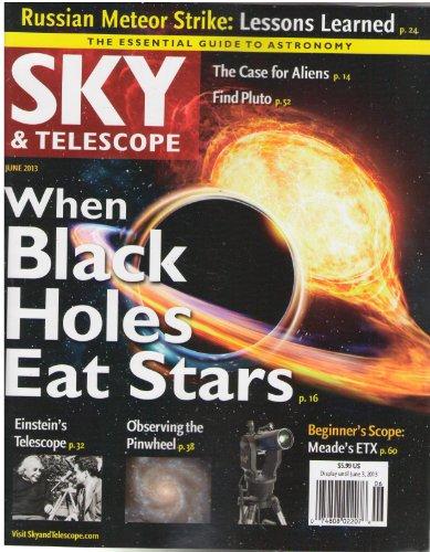 Sky & Telescope Magazine June 2013