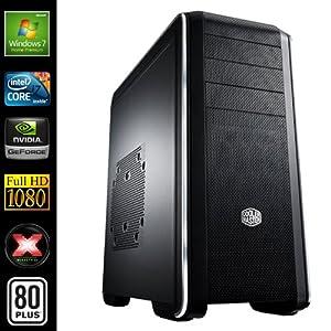 Sedatech PC Gamer Expert Desktop (Intel i7-3770 4x 3.4GHz Processor, 16GB RAM, 2000GB HDD, 250GB SSD, USB 3.0, Full HD 1080P, GeForce GTX 660 2048MB, 80+ PSU, Windows 7)