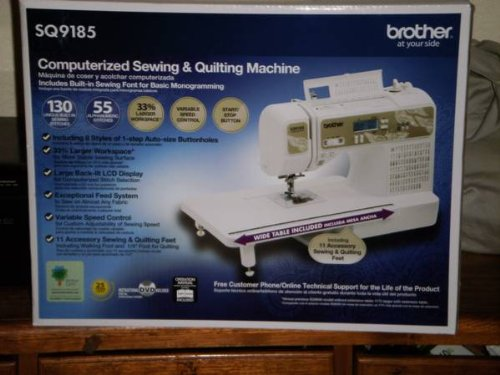 Brother Computerized Sewing And Quilting Machine Reviews