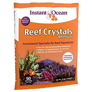 Instant Ocean RC3-50  Reef Crystal Reef Salt Marine Mix, 50-Gallon