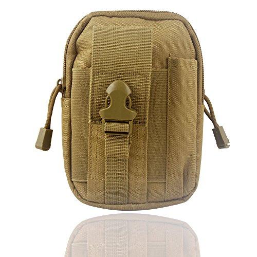 Wasserdichte 1000D Nylon Camouflage Tactical MOLLE Universal-Multifunktions -große Kapazitäts-Outdoor-Camping-Wandern praktische Gerät Beutel (Farbe 4)