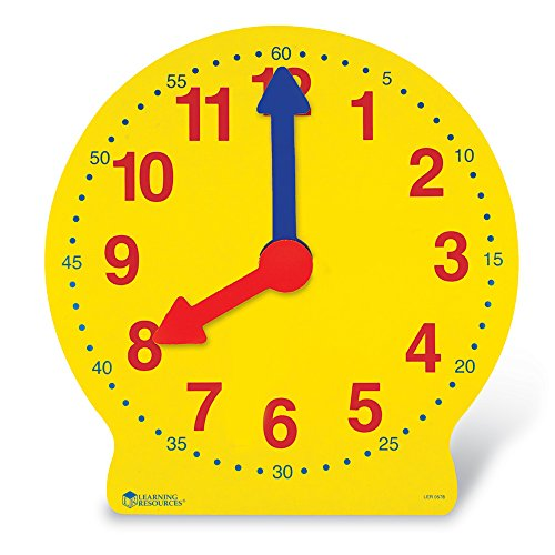 Learning Resources Magnetic Big Time Learning Clock - 1