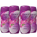 Gokul Secret Garden Talc (Purple Iris)200g (Pack of 4)