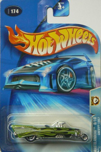 Hot Wheels 2003-174 Wastelanders 8/10 1957 Chevy 1:64 Scale - 1