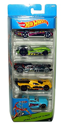 Hot Wheels, 2015 Workshop, Spiral Stack Up 5-Pack