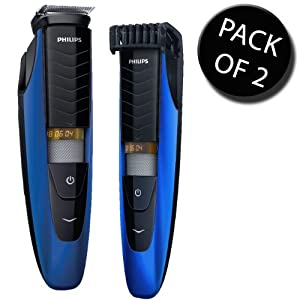 2x philips bt5260 33 precision beard trimmer 5000 100. Black Bedroom Furniture Sets. Home Design Ideas