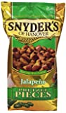 Snyder's of Hanover Jalepeno Pretzel Pieces, 12-Ounce (Pack of 12)