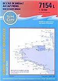 echange, troc Collectif - Carte marine : De l'île de Bréhat au Cap Fréhel - Baie de Saint-Brieuc