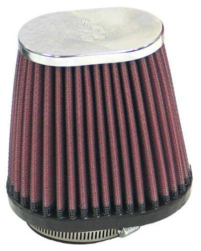 K&N RC-2890 High Performance Universal Clamp-on Chrome Air Filter