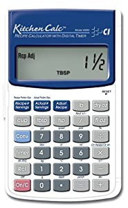 Calculated Industries KitchenCalc 8300 Recipe Calculator with Digital Timer by Calculated Industries