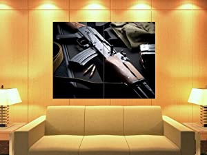 XD2772 AK-47 Bullets Military Weapon HUGE GIANT WALL Print POSTER