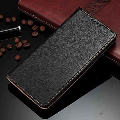 iLee Premium Genuine Leather Flip Cover For LG G4 (12 Month Warranty) -Color : Black