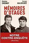 Mémoires d'otages : Notre contre-enquête par Chesnot