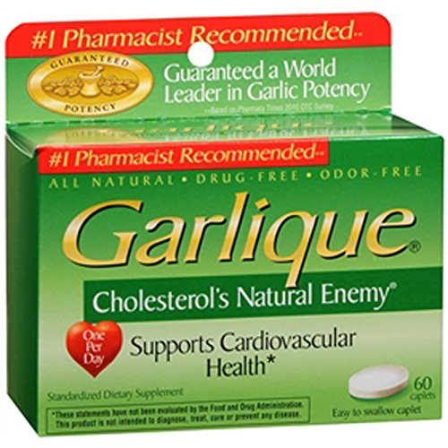 Garlique Caplets - 60 Ct