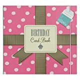 NEW! KTwo Birthday Card Book Planner Spotty Pink