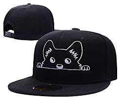 XIDA Corgi Peeking Dog Symbol Logo Adjustable Embroidery Hats Beanie Knitted Snapback Baseball Visor Caps Hats