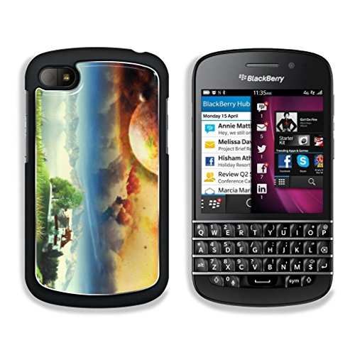 Details-Us Four Seasons World Blackberry Q10 Snap Cover Premium Aluminium Design Case Customized Made To Order