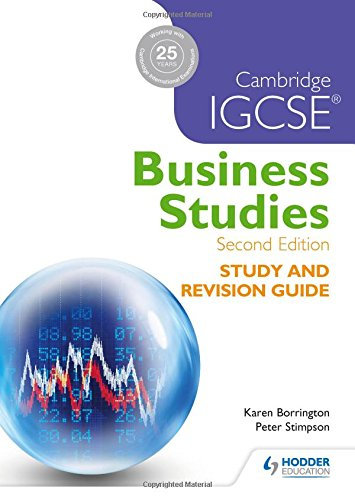 cambridge international as and a level business studies coursework