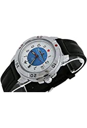 Vostok Komandirskie 431055 / 2414A Military Special Forces Russian Watch Submarine U-boot White