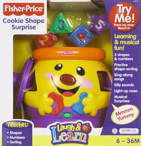 Fisher Price Learning Kitchen: Fisher-Price Laugh & Learn Cookie Shape Surprise Home