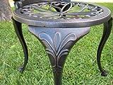 Outdoor Patio Deck Aluminum Furniture 3 Piece Bistro Set B CBM1290