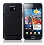 Skinomi TechSkin - Samsung Galaxy S2 Screen Protector + Carbon Fiber Full Body Skin / Front & Back Premium HD Clear Film / Ultra Invisible and Anti Bubble Shield