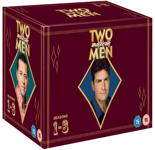 Two and a Half Men - Season 1-8 Complete [DVD]
