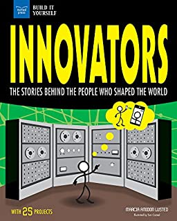 Book Cover: Innovators: The Stories Behind the People Who Shaped the World With 25 Projects