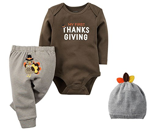 Carter's Unisex Baby's First Thanksgiving Bodysuit