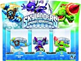 Skylanders Spyro's Adventure: Triple Character Pack - Lightning Rod, Zook and Cynder (Wii/PS3/Xbox 360/PC)