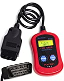 OxGord® CAN OBD II OBD2 Scanner Tool - For Check Engine Light & Diagnostics - Dircect Scan and Read Out