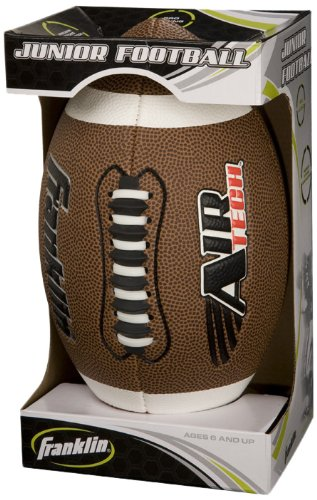 Franklin Sports Junior Air Tech Football (Assorted Colors) (Airtech Football compare prices)