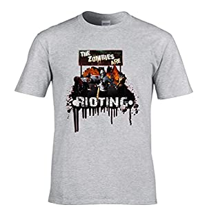 Fear The Rioting Zombies Tshirt Mens Small - 5XLarge