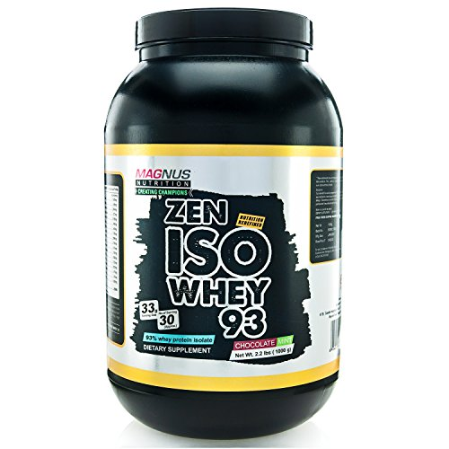Magnus Nutrition Iso Whey 93 - 2 Lbs (Berry Blast)