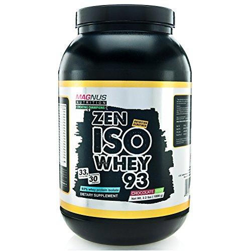Magnus Nutrition Iso Whey 93 - 2 Lbs (Berry Blast)